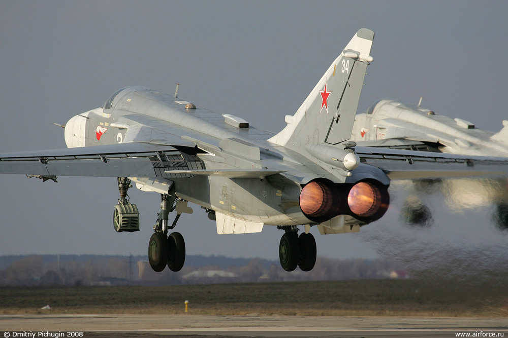 Rússia Vai Fornecer à Argentina 12 Caças-Bombardeiros Su-24M2 'Fencer-D'